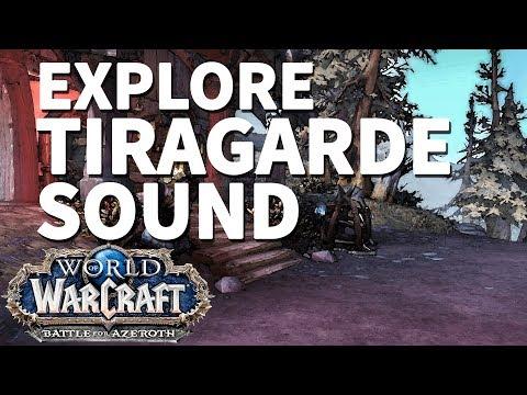 Fernwood Ridge WoW BfA Explore Tiragarde Sound