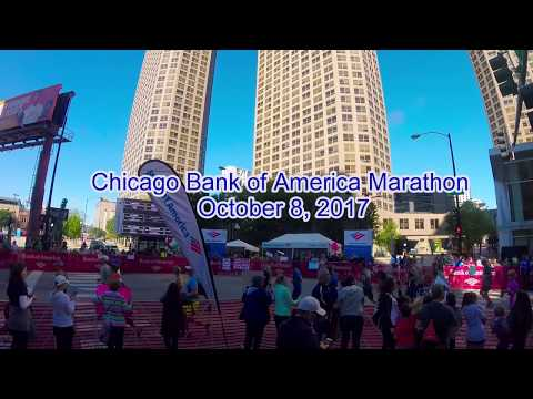 Chicago Bank of America Marathon 2017 Experience