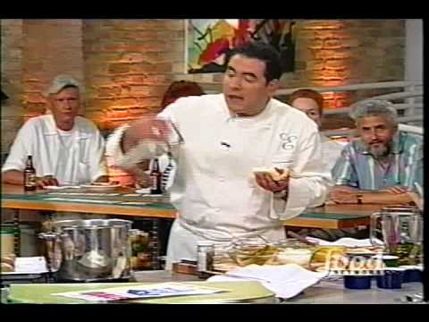 Superdawg on Food Network's Emeril Live Chicago Edition July, 6th 1999