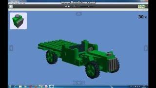 Військова саморобка #2 (Газ АА з лего)