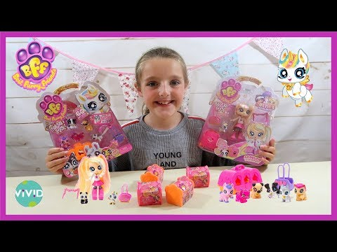 UNBOXING BFF BEST FURRY FRIENDS BESTIE PACK, DELUXE PACK SINGLE PACKS  VIVID TOYS AND GAMES