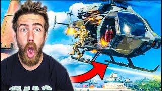 I GOT INTO A HELICOPTER FIGHT! - Call of Duty Blackout Battle Royale!