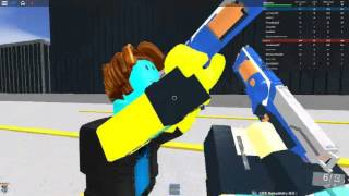 ROBLOX nerf (nsp nerf gun game)