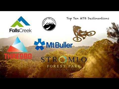 Top 5 Australian  MTB Destinations Among NSW/VIC/ACT