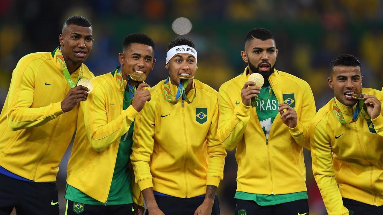 Brazil vs Germany Football RIO Olympic 2016 final Match ...