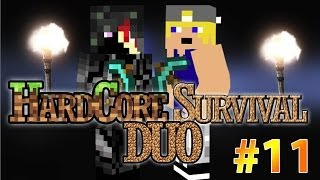 Minecraft Hardcore Survival Duo: WAT IS DE WEG TERUG? #11