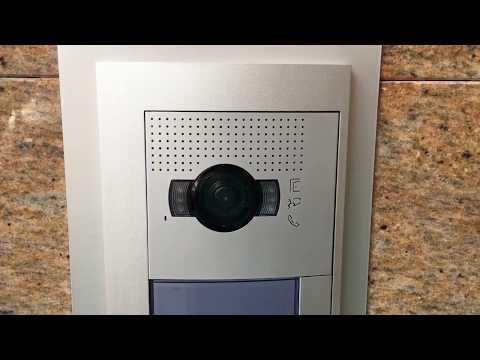 Instalación De Videoportero Tegui Sfera New Con Lector RFID