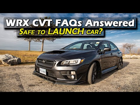 WRX CVT Frequently Asked Questions Part 1