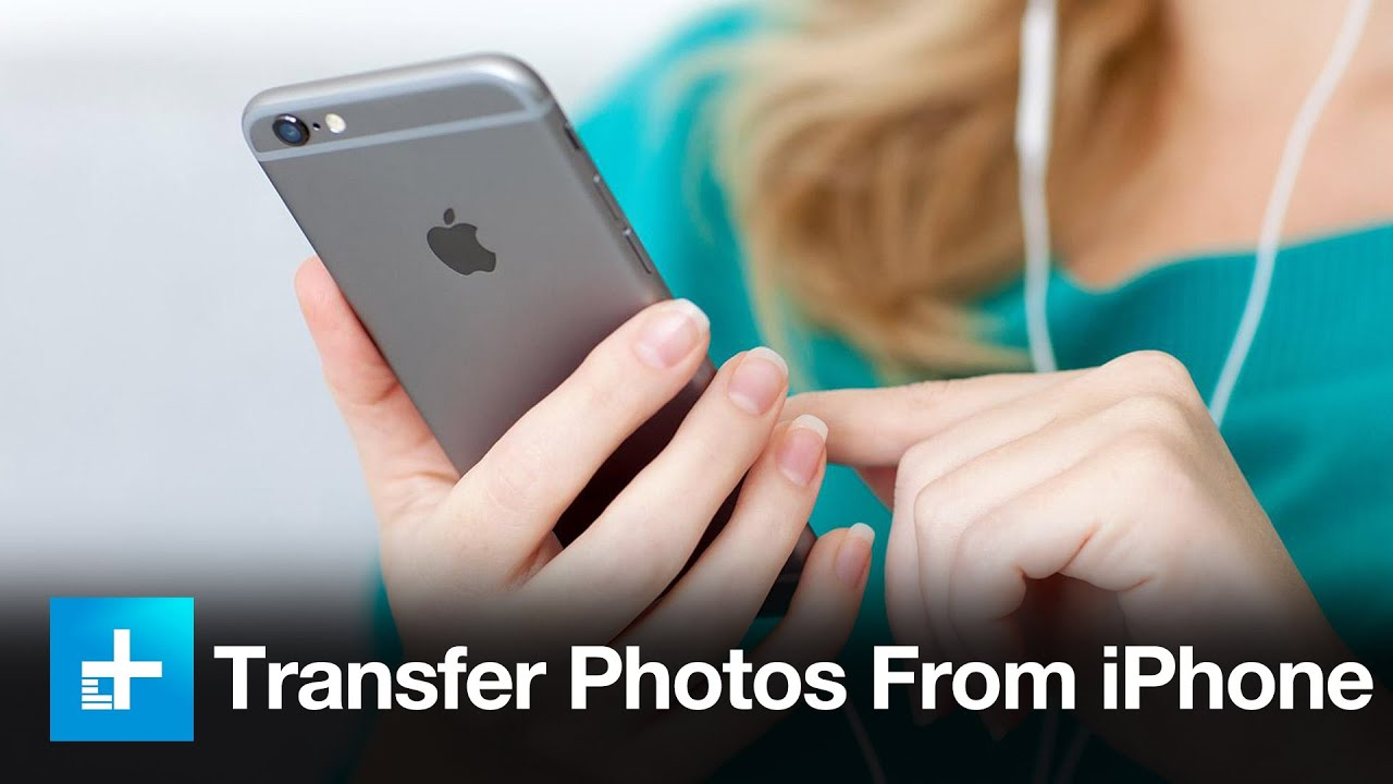 how to transfer photos from the iphone youtube