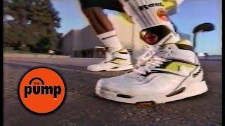 Reebok Pump Foot Locker Commercial 1990
