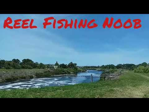 First Time Big Spillway Fishing ~ Port St. Lucie, FL