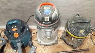 видео Промышленные пылесосы (строительные)