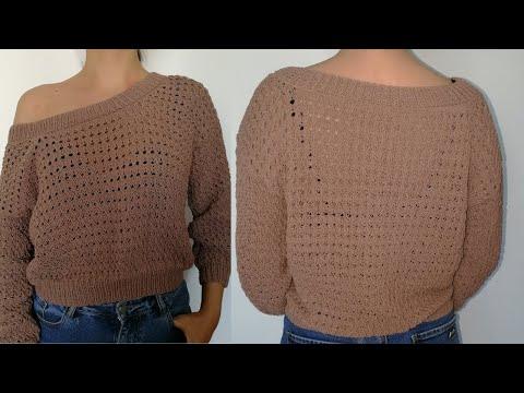 Мастер класс по вязанию спицами свитера