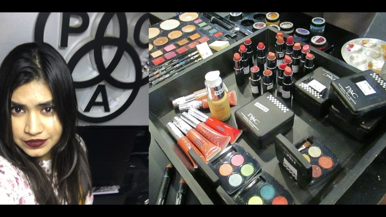 P A C Cosmetics Store In India Affordable Pac Cosmetics Haul