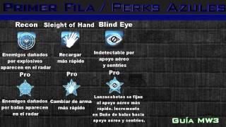 AZTECA | Guía de MW3 Ep.1 Perks Azules | AztecaHD