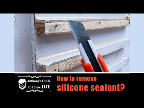 How To Remove Silicone >> How To Remove Silicone Sealant Anthony S Guide To Home Diy