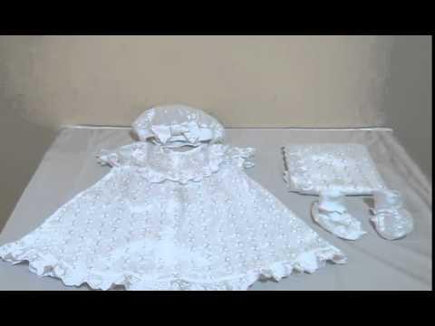 крестильный набор белый