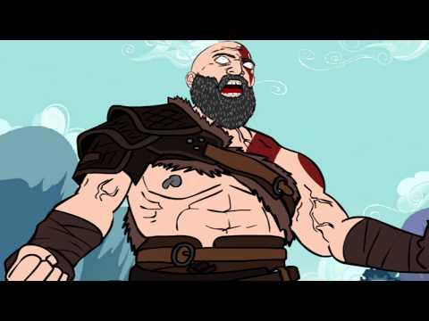 God of War parodia-La pazienza di Kratos