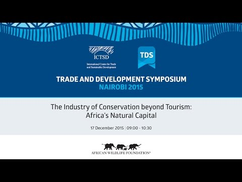 TDS LIVE | The Industry of Conservation beyond Tourism: Africa's Natural Capital