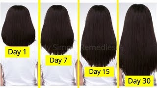 Six Super Easy Hair Hacks To Get Long, Thick ,Healthy & Beautiful Hair -