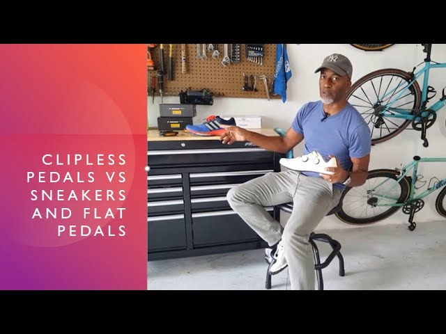 Clipless Pedals vs Sneakers and Flat Pedals