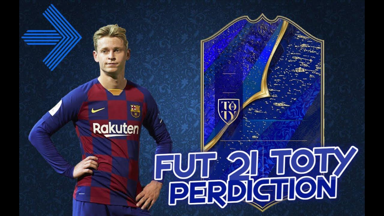 FIFA 21   TOTY prediction   ft. Ronaldo, van Dijk, de Jong... (new toty  prediction uploaded!) - YouTube