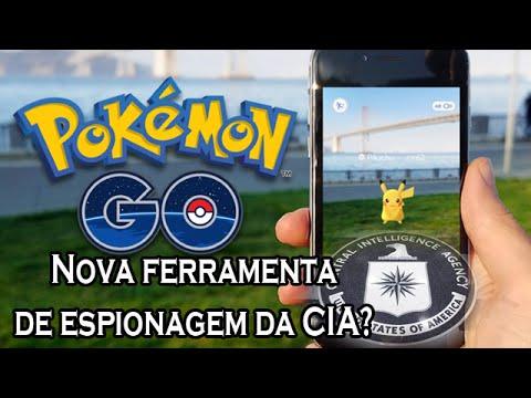 Pokémon Go Brasil, nova Ferramenta de Espionagem da CIA? - #canalguardeiafe