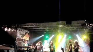 KING KALABASH, UCEE & RIDDIMSHOT live on Reggae Meeting 2010