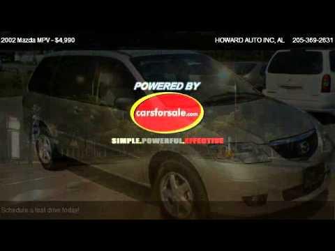 2002 Mazda MPV LX - For Sale In Hueytown, AL 35061