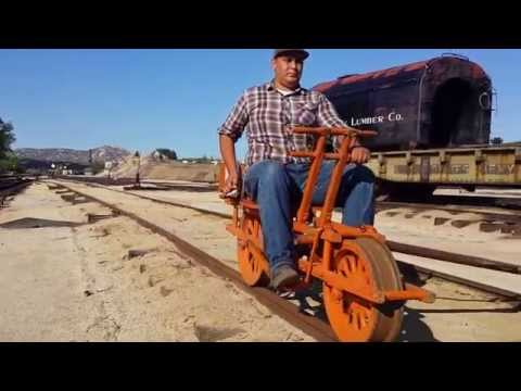 Sheffield Railroad Velocipede railbike