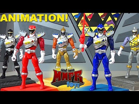 Awesome Power Rangers Dino Charge Animation Compilation! MMPRtoys