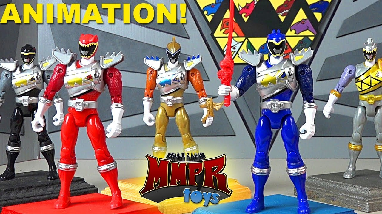 Awesome Power Rangers Dino Charge Animation Compilation Mmprtoys Youtube