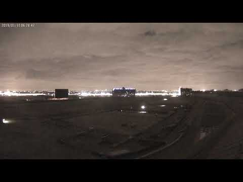 Cloud Camera 2019-01-31: Texas Motor Speedway