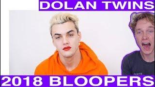 Dolan Twins 2018 Bloopers reaction Tyler Wibstad