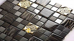 Mosaic Glass Wall Tiles for Kitchen Backsplash