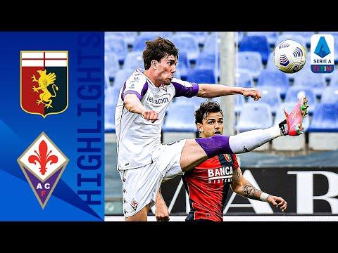Genoa Fiorentina Goals And Highlights