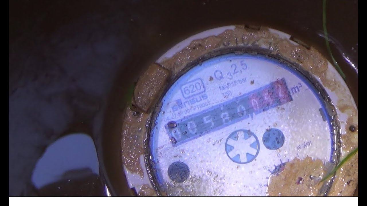 How To Read A Water Meter Check For Leaks And Turn Off Water Supply Youtube