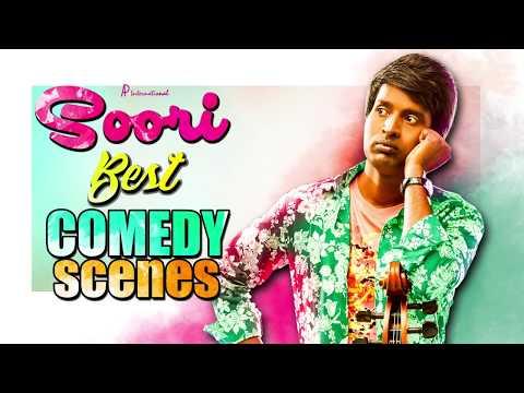 Soori Best Comedy Scenes | Udhayanidhi Stalin | Atharvaa | Vishnu Vishal | Rajendran | Parthiban
