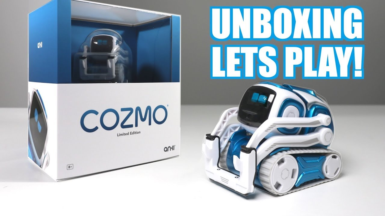 unboxing lets play blue