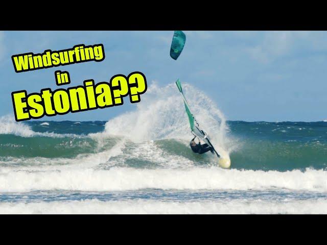 Can you windsurf in Estonia??