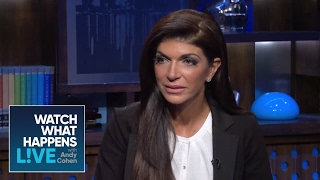 Exclusive Footage: Teresa & Joe Giudice on Prison Sentence pt.1 - WWHL