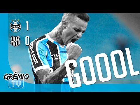 [GOL] Grêmio 1 x 0 Ponte Preta l GrêmioTV