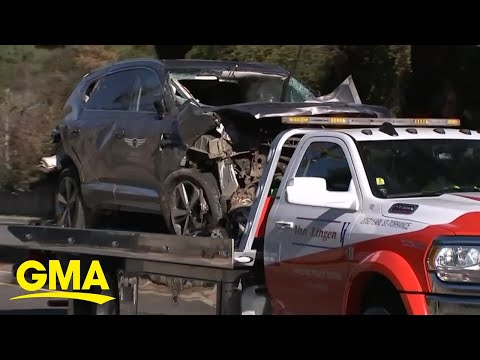 Authorities reveal Tiger Woods' vehicle was speeding at time of crash l GMA