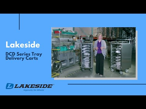Lakeside - DCD Series Tray Delivery Carts