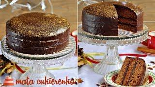 Łatwy piernik z powidłami i polewą czekoladową – PRZEPIS – Mała Cukierenka