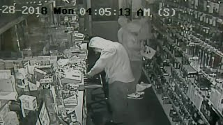Liquor store robbery cause on camera on Detroit's east side