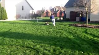 How To Make A 9-hole Backyard Golf Course! 2013