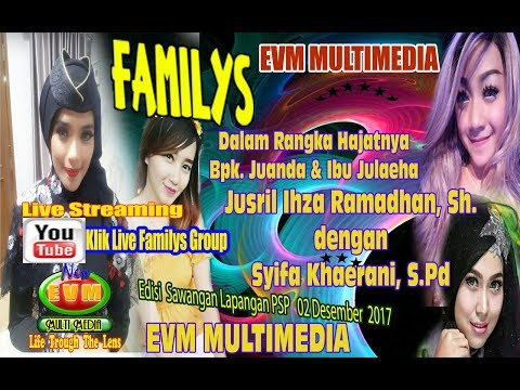LIVE Familys Lapangan PSP Sawangan