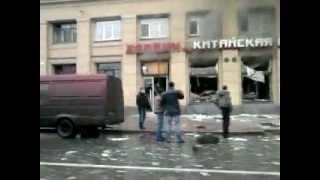 взрыв в ресторане на среднеохтинском
