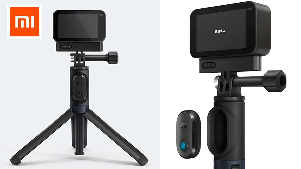 Xiaomi Mijia Selfie Stick Tripod for Mini Sport Action Camera 4K